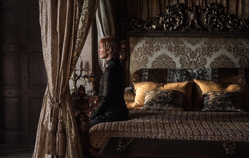 Lena Headey as Cersei Lannister in Game of Thrones season 7 episode 5:Eastwatch