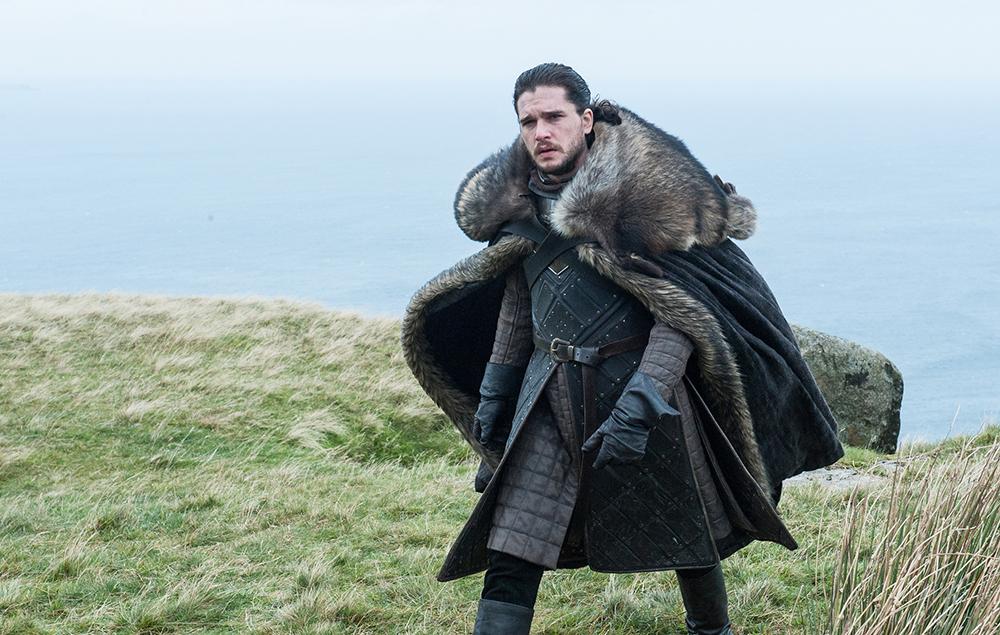 Kit Harington as Jon Snow in Game of Thrones season 7 episode 5:Eastwatch
