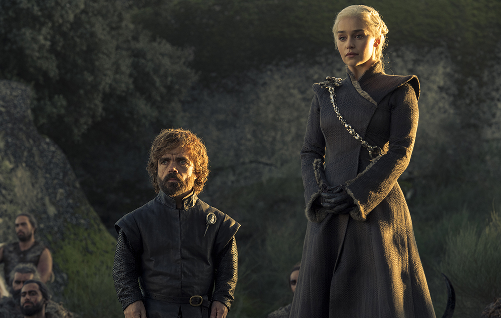 Daenerys Targaryen and Tyrion Lannister in Game of Thrones season 7 episode 5 –Eastwatch