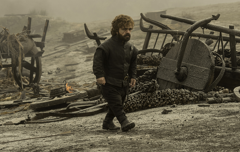 Tyrion Lannister in Game of Thrones season 7 episode 5 –Eastwatch