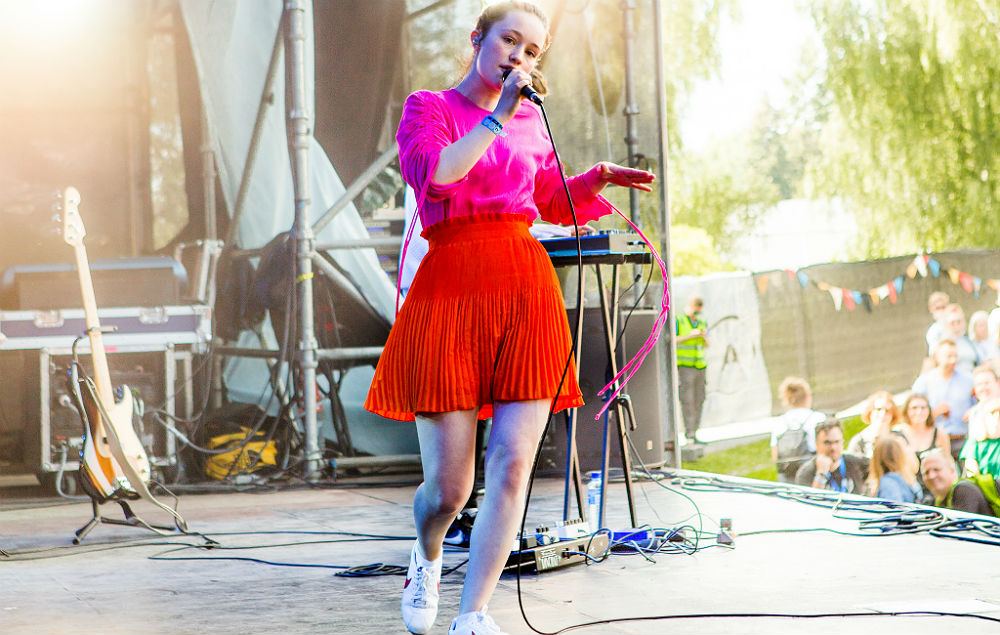Sigrid live at Øya 2017. Credit: Helge Brekke/Øya