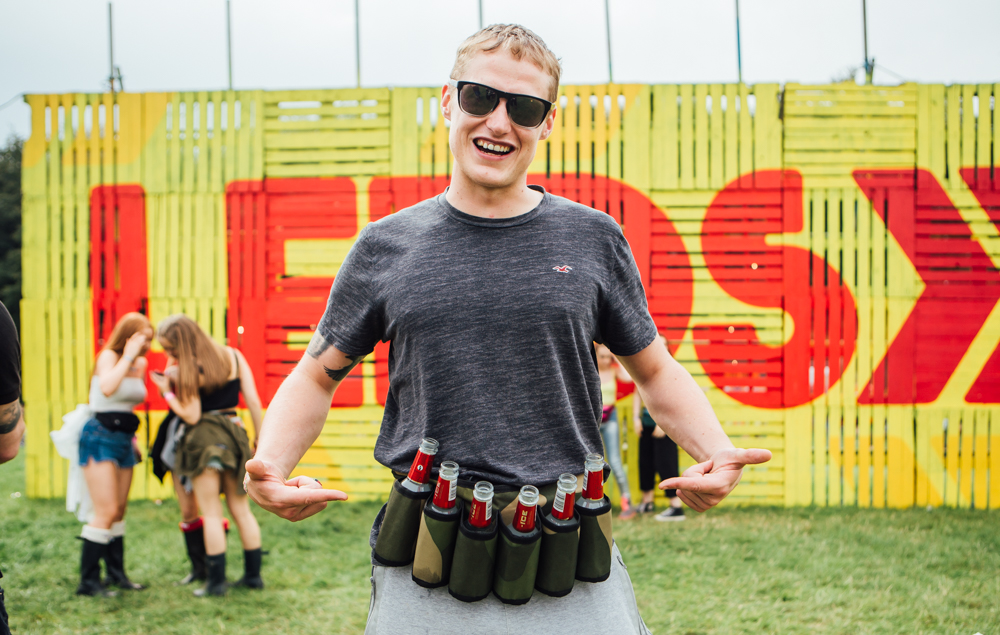 We need to get ourselves one of these awesome beer-holsters