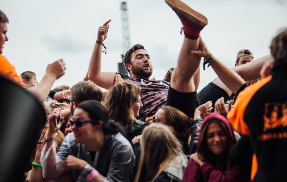 Always crowdsurf responsibly