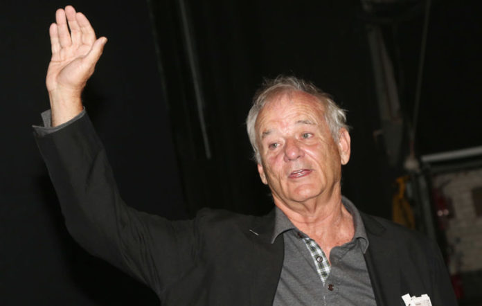 Bill Murray at the 'Groundhog Day' musical