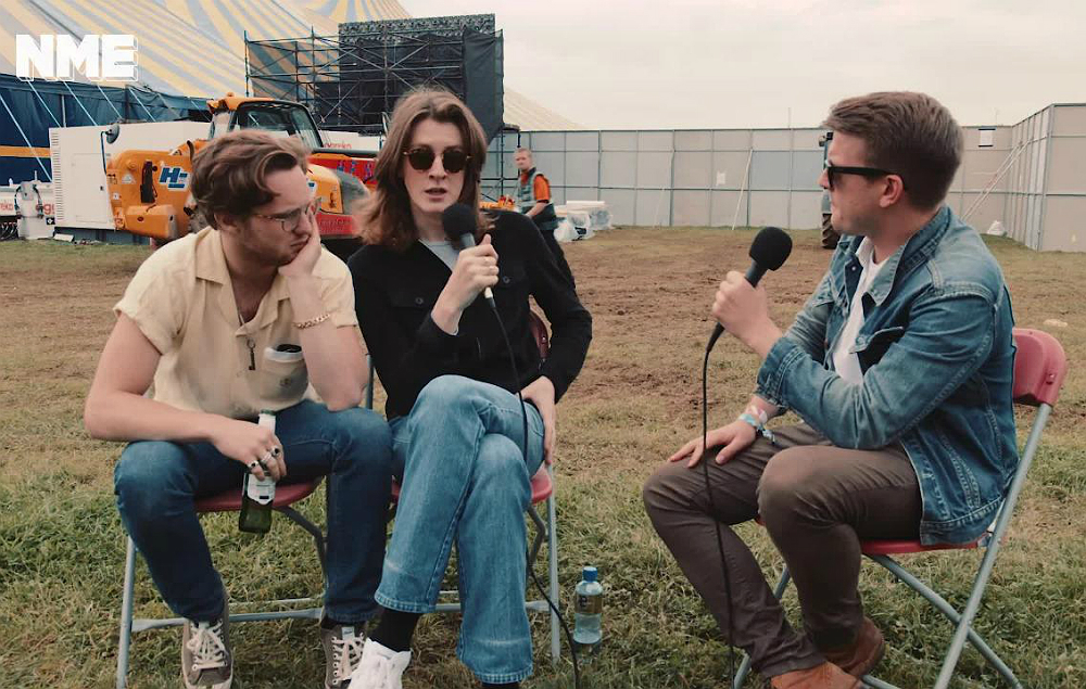 Blossoms talk to NME at Leeds Festival 2017
