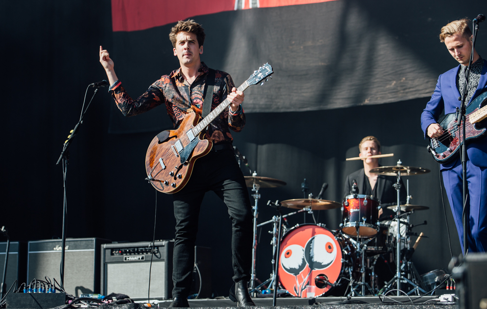 This was massive - Circa Waves played their biggest show at Leeds to date with a set on the main stage