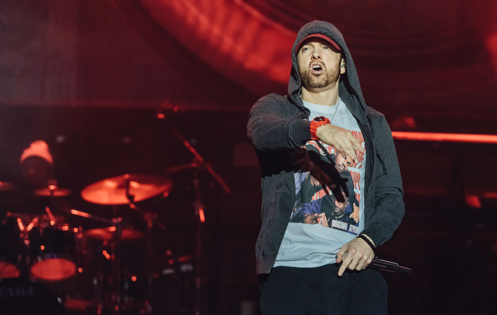 Eminem was on powerful form at Leeds, with a 90-minute career spanning setlist