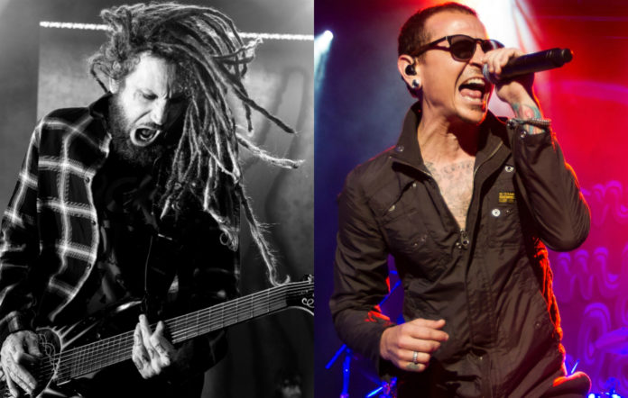 head from KoRn and Linkin Park's Chester Bennington