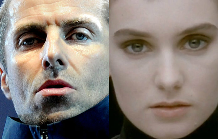 Liam Gallagher is filming a Sinead O'Connor-esque music video