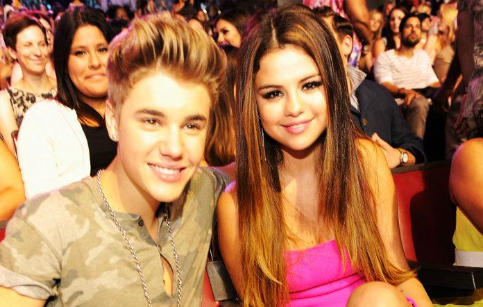 Justin Bieber and Selena Gomez in 2012