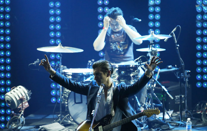 Arctic Monkeys' Matt Helders and Alex Turner