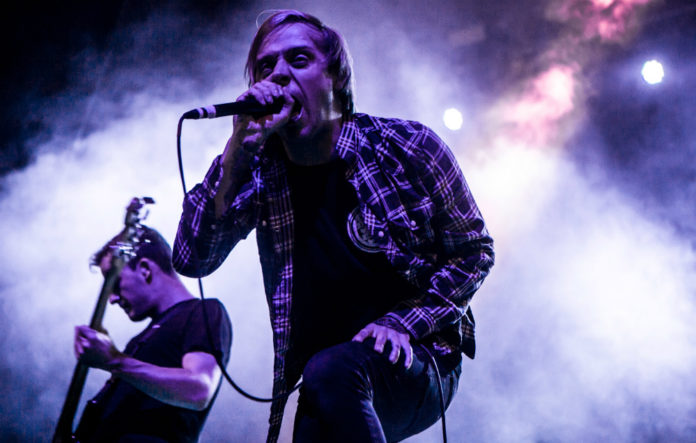 Architects' Sam Carter called out a sexual assault he witnessed from the stage
