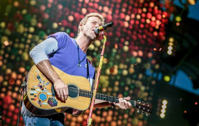 Coldplay performed a new song for Hurricane Harvey victims