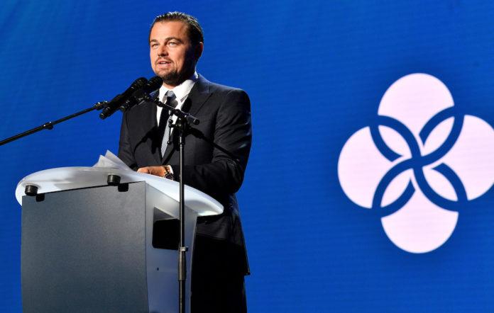 Leonardo DiCaprio hurricane