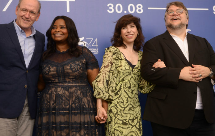 'The Shape of Water' premiered at Venice FIlm Festival today (August 31)