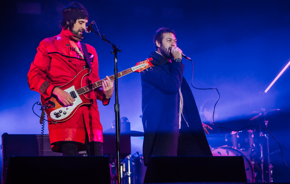 Back at Leeds, Kasabian played their second headline slot with a crowd that was, by their own admission, better than Reading