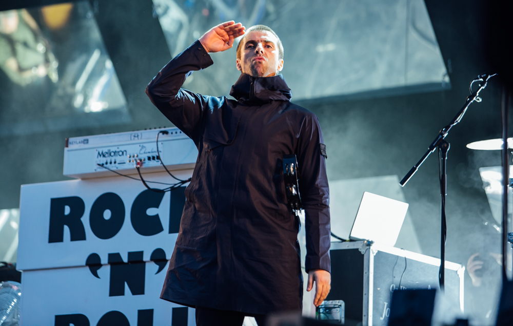 Liam Gallagher at Leeds: