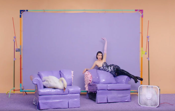 St Vincent has unveiled a new video for 'New York'