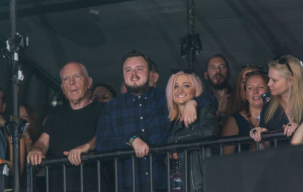 Game of Thrones' Samwell Tarly, AKA John Bradley West, was spotted enjoying Liam at Reading
