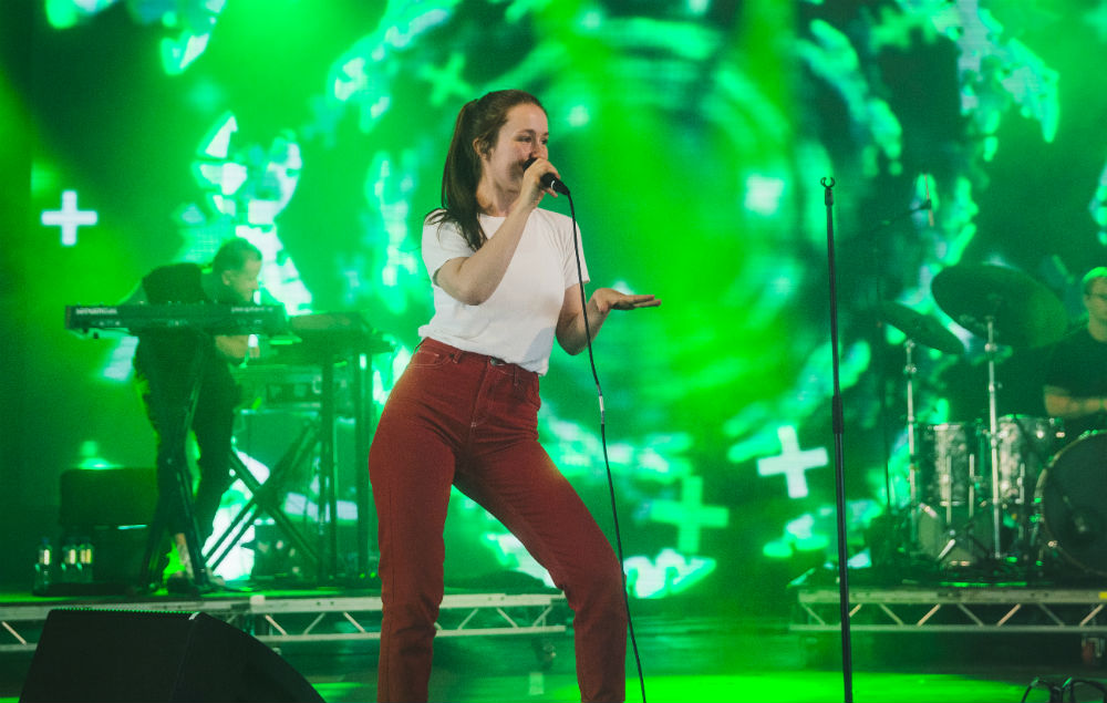 Sigrid brought the moves to the Dance Stage at Leeds on Sunday afternoon