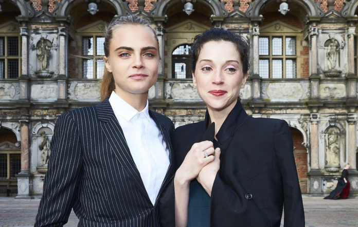 St Vincent and Cara Delevingne