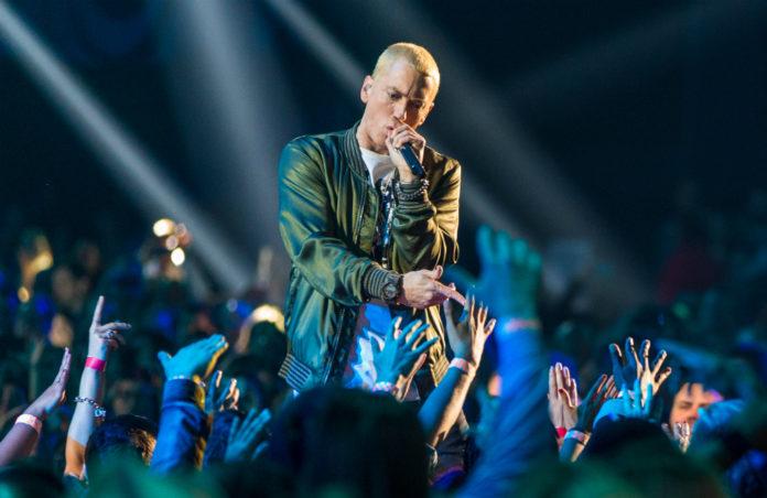 Eminem producing comedy rap battle