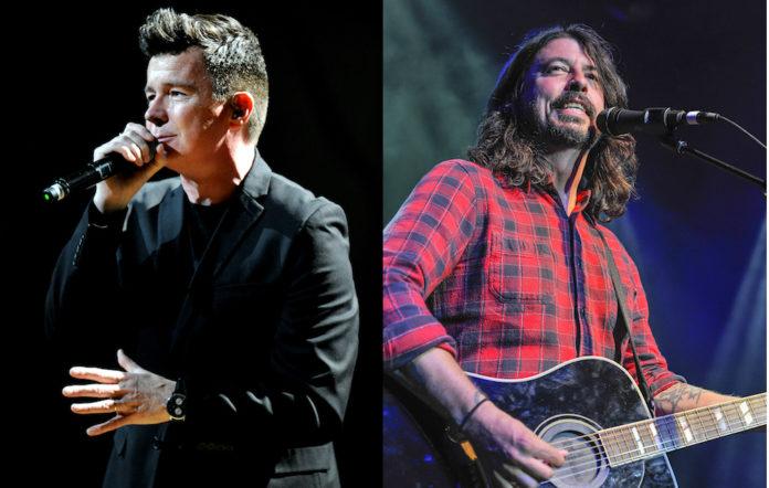 Foo Fighters Rick Astley
