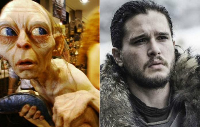 Gollum and Jon Snow