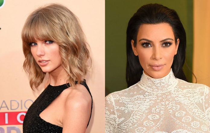 Kim Kardashian Angers Taylor Swift S Fans After Posting Photo Of Controversial Waxwork