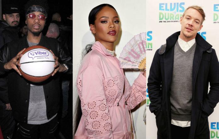 Metro Boomin Rihanna Diplo songs