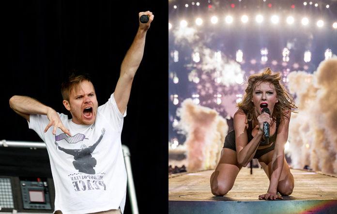 Enter Shikari's Rou Reynolds and Taylor Swift