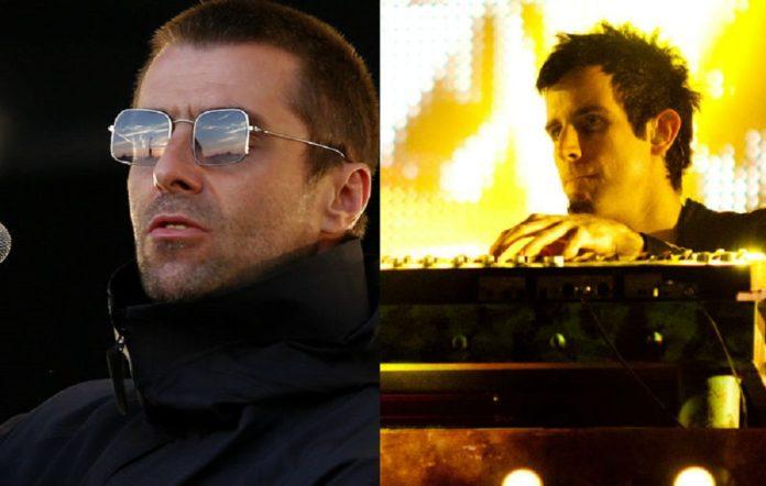 Liam Gallagher and Pendulum's Rob Swire