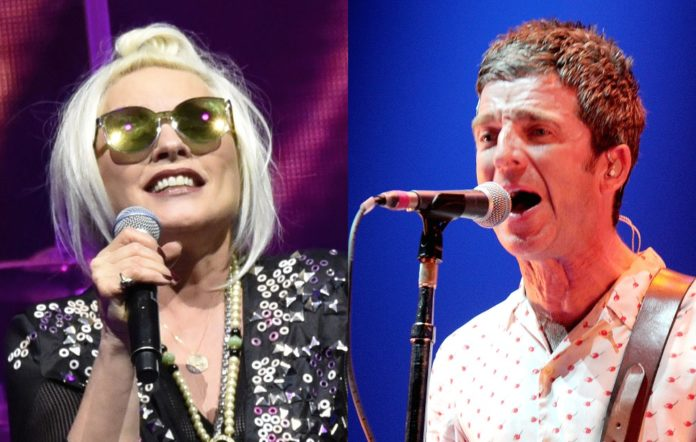 Blondie and Noel Gallagher