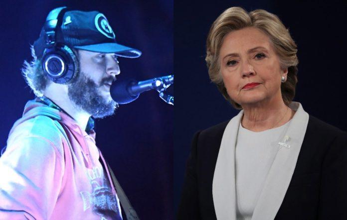 Bon Iver and Hillary Clinton