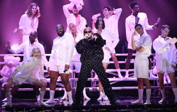 Charli XCX performing 'Boys' on 'The Tonight Show'
