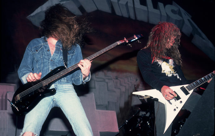 Metallica live in 1986