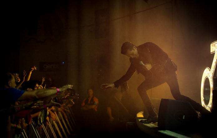 The Killers' Brandon Flowers live at Brixton Academy