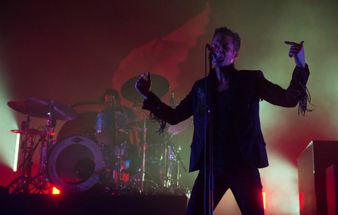 That new track was the Depeche Mode-esque rumbling of 'The Calling'.