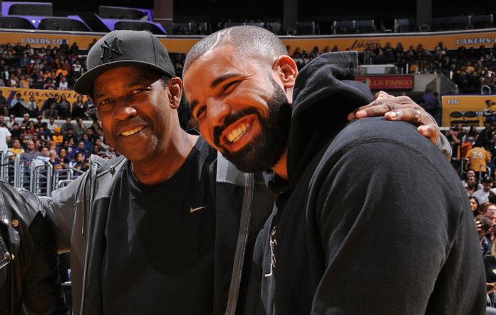 Drake and Denzel Washington
