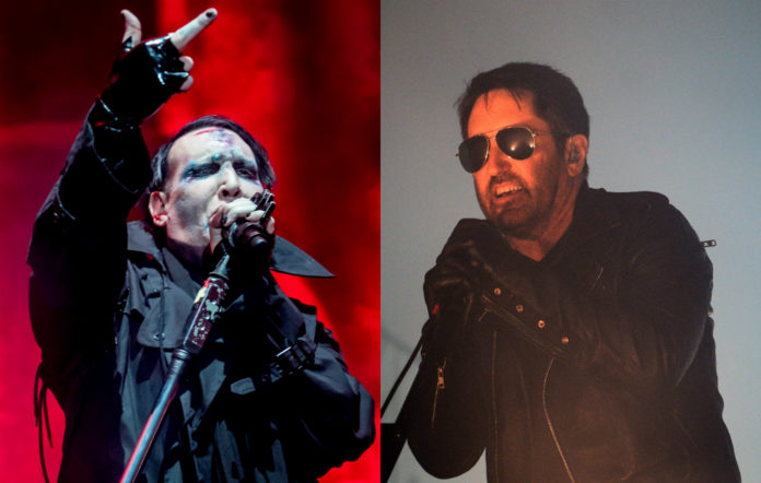 Marilyn Manson and Trent Reznor