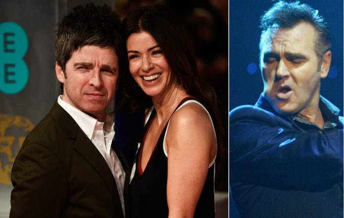 Noel GALLAGHER, Sara MacDonald and Morrissey all shared a night out together