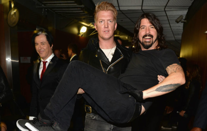 Foo Fighters Queens of the Stone Age