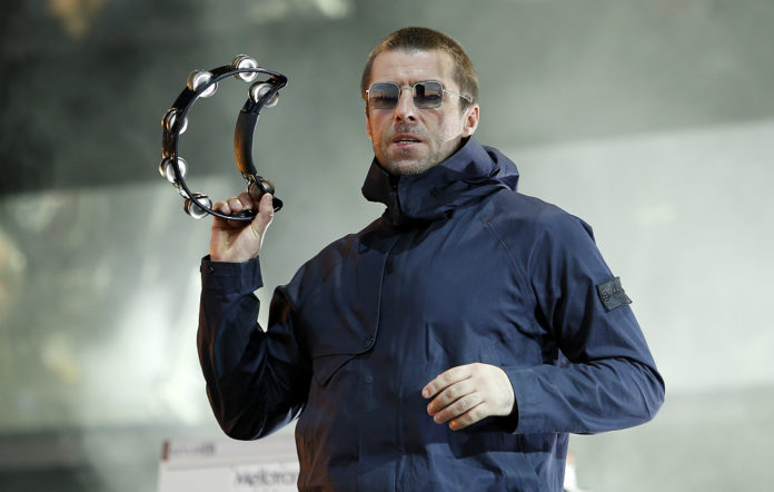 Liam Gallagher live at Reading Festival