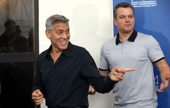 George Clooney Matt Damon