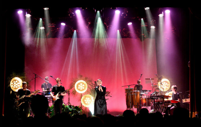 Jessie Ware performs at Islington Assembly Hall on September 4, 2017