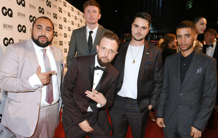Kurupt FM from 'People Just Do Nothing' at the GQ Awards 2017
