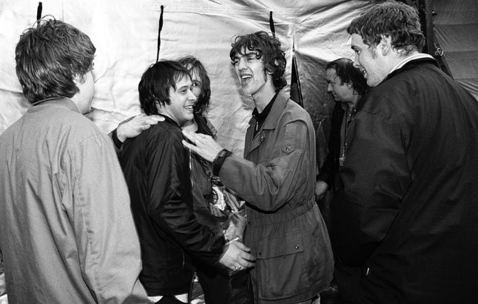 The Verve, backstage at Haigh Hall