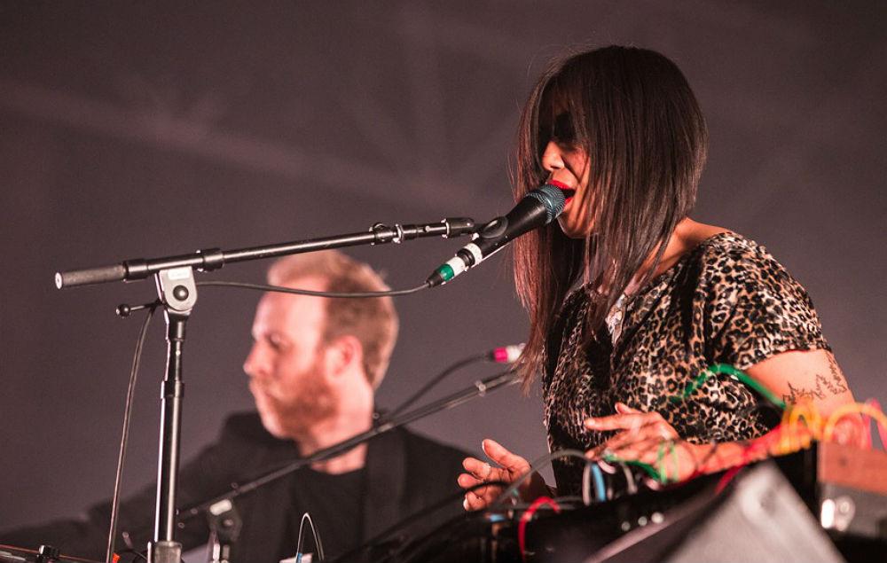 LCD Soundsystem live at Alexandra Palace, London