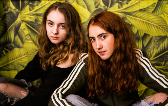 Let's Eat Grandma were in a reflective mood before their Box Stage set