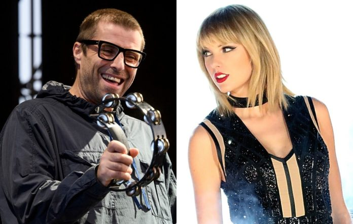 Liam Gallagher and Taylor Swift